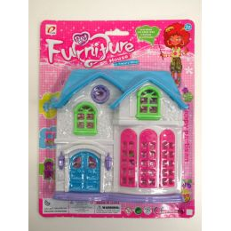 72 Units of FURNITURE PLAY HOUSE - Toy Sets