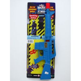 96 Units of M-16 TOY POLICE RIFLE W/SPARKLING ACTION - Toy Sets