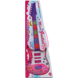 """36 Units of 20"""" Pop Music Girl's Guitar W/fetching Lights In Window Box - Girls Toys"""