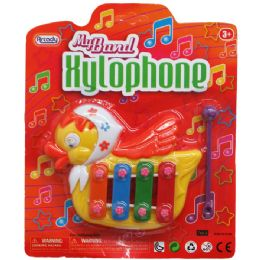 48 Units of MY BAND XYLOPHONE(DUCK SHAPE) IN BLISTER CARD - Musical