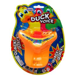 96 Units of DUCK SOUND WHISTLE IN BLISTERED CARD - Novelty Toys