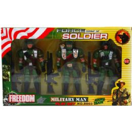 24 Units of 3pc Soldier Force Action Figures - Action Figures & Robots