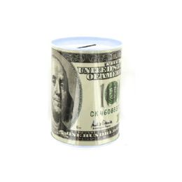 72 Units of 100 Dollar Bill Tin Money Bank - Dolls