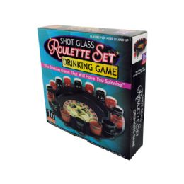6 Units of Roulette Drinking Game - Novelty Toys