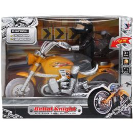 """24 Units of 9"""" F/P MOTORCYCLE W/LIGHT & SOUND IN TRY ME WINDOW BOX - Cars, Planes, Trains & Bikes"""