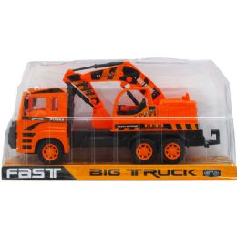 """24 Units of 12"""" F/F EXCAVATOR TRUCK ON PLATFORM WITH BLISTER COVER - Cars, Planes, Trains & Bikes"""