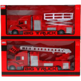 18 Units of EMERGENCY TRUCK IN WINDOW BOX - Cars, Planes, Trains & Bikes