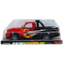 """36 Units of 9.5"""" F/F PICK UP TRUCK ON PLATFORM W/BLISTER COVER - Cars, Planes, Trains & Bikes"""