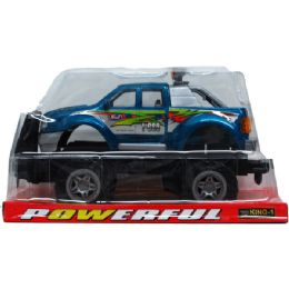 """12 Units of 11"""" F/F PICK UP TRUCK ON PLATFORM W/BLISTER COVER - Cars, Planes, Trains & Bikes"""