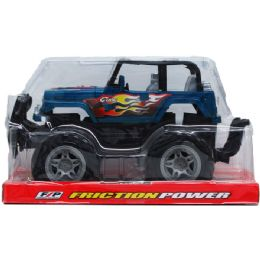 """24 Units of 9"""" F/F OFF-ROAD CAR ON PLATFORM WITH BLISTER COVER - Cars, Planes, Trains & Bikes"""