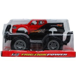 """24 Units of 9"""" F/F PICK UP TRUCK ON PLATFORM WITH BLISTER COVER - Cars, Planes, Trains & Bikes"""