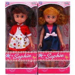 18 Units of SOPHIE DOLL IN WINDOW BOX - Dolls