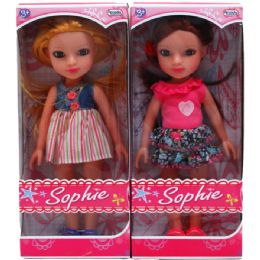 "18 Units of 12"" Sophie Doll In Window Box - Dolls"