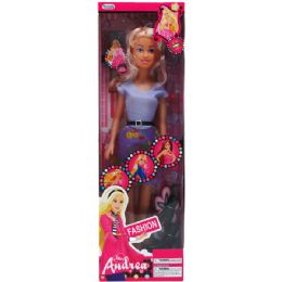 24 Units of Miss Andrea Doll With Accessories In Window Box - Dolls