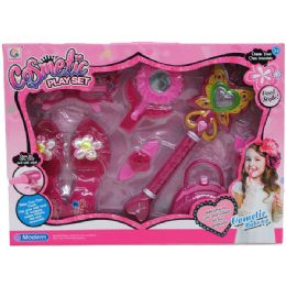 18 Units of 8PC FAIRY PLAY SET W/IC SOUND & LIGHT IN WINDOW BOX - Toy Sets