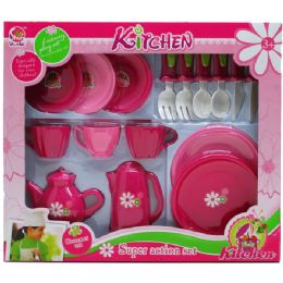 12 Units of 15PC TEA PLAY SET IN WINDOW BOX - Toy Sets