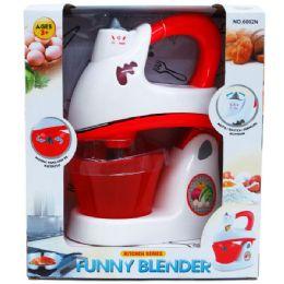 24 Units of B/O TOY BLENDER W/LIGHT IN OPEN BOX - Novelty Toys