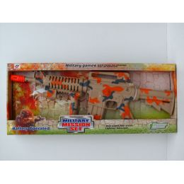12 Units of MILITARY MISSION SET - Toy Weapons