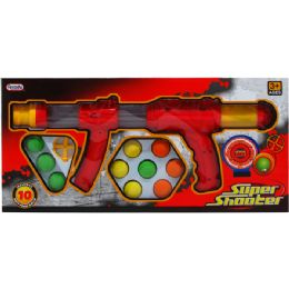 """12 Units of 17"""" FOAM BALL SUPER SHOOTER IN WINDOW BOX - Toy Weapons"""