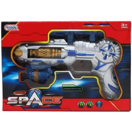 12 Units of TOY SPACE GUN WITH LIGHT AND SOUND - Toy Weapons