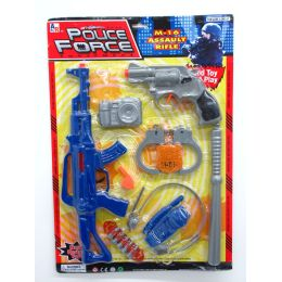 24 Units of POLICE FORCE SET - Toy Weapons
