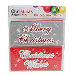 72 Units of 2PK XMAS MONEY HOLDER 8.5L - Christmas Novelties