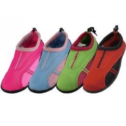 36 Units of Women's Aqua Shoes - Women's Aqua Socks