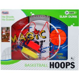 "12 Units of 19.5"" WIDTH BACKBOARD BASKETBALL PLAY SET IN WINDOW BOX - Sports Toys"