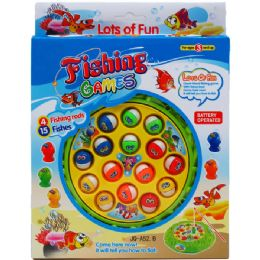 36 Units of 19PC B/O FISHING GAME SET IN PEGABLE WINDOW BOX - Dominoes & Chess
