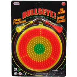72 Units of 2 DART BULLSEYE! GAME PLAY SET IN BLISTER CARD - Darts & Archery Sets