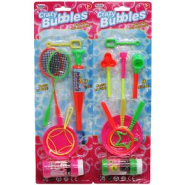 144 Units of BUBBLE PLAY SET ASSORTED - Bubbles