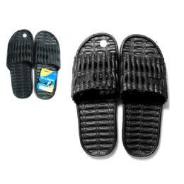 48 Units of Men's Eva Slippers 40-45 3asst - Men's Slippers