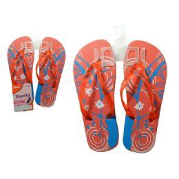 72 Units of Slipper For Girl 6asst Colors - Girls Slippers
