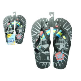 72 Units of Slipper For Boy 3asstsize 11-3 - Boys Flip Flops & Sandals