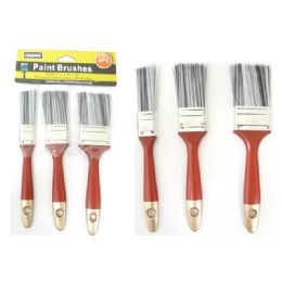 """96 Units of Paint Brushes 3pc /Set 1,1.5,2"""" - Paint and Supplies"""