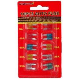 72 Units of 10pc Auto Fuse - Auto Maintenance