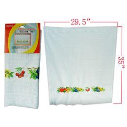 "288 Units of Fruit Print Window Curtain 29.5x35"" - Window Curtains"