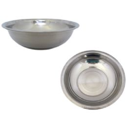 96 Units of Stainless Steel Bowl - Baking Supplies