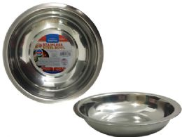 96 Units of Stainless Steel Bowl - Bows & Ribbons