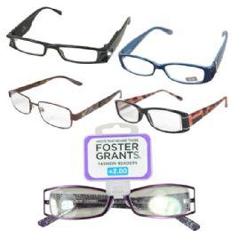 100 Units of Foster Grant Reading Glasses Medium - Reading Glasses