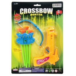 24 Units of Crossbow Hunter Game - 7 Piece Set - Water Guns