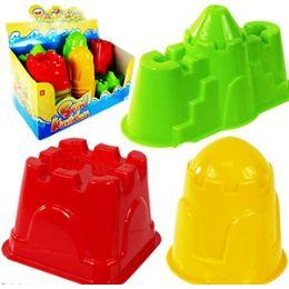 78 Units of CASTLE SAND MOLDS - Beach Toys