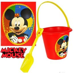 24 Units of DISNEY'S MICKEY MOUSE SAND PAIL & SHOVEL SETS - Beach Toys