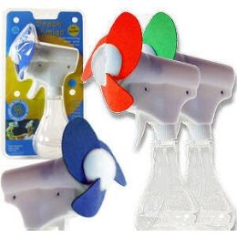 24 Units of Beach Amigo Fans - Spray Bottles