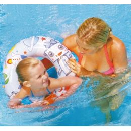 36 Units of Cartoon Swim Rings. - Inflatables