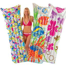 16 Units of INFLATABLE ADULT FASHION POOL MATTRASES - Inflatables
