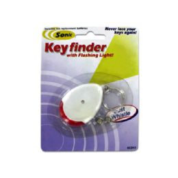 72 Units of Sonic Key Finder Key Chain with Flashing Light - Lamps and Lanterns