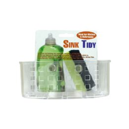 72 Units of Sink Organizer With Suction Cups - Storage Holders and Organizers