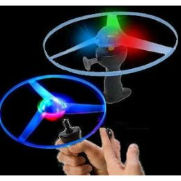 60 Units of Pull Line Ufo Flyer With Lights - Light Up Toys