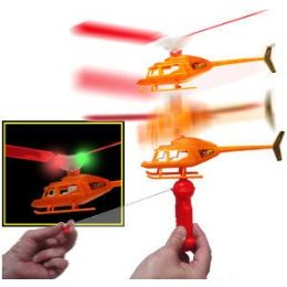 36 Units of Air Force Zoom Copters With Lights. - Light Up Toys